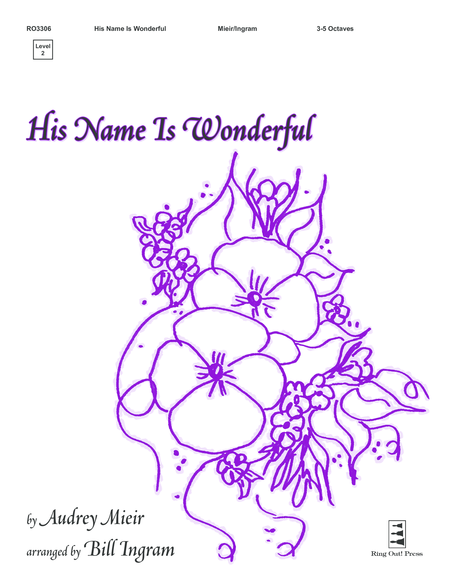 Cover of His Name Is Wonderful
