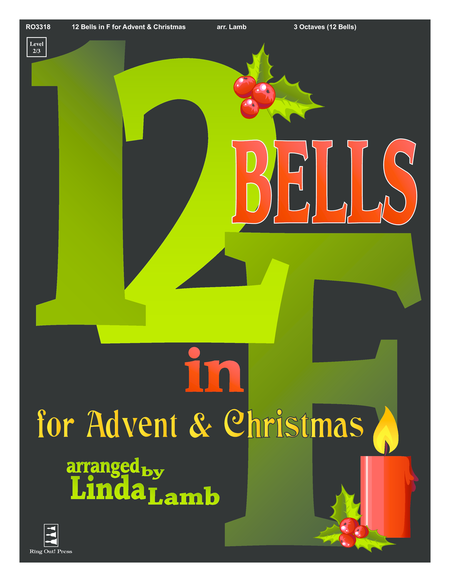 Cover of 12 Bells in F for Advent and Christmas