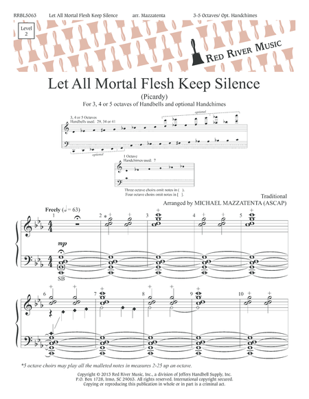 Cover of Let All Mortal Flesh Keep Silence