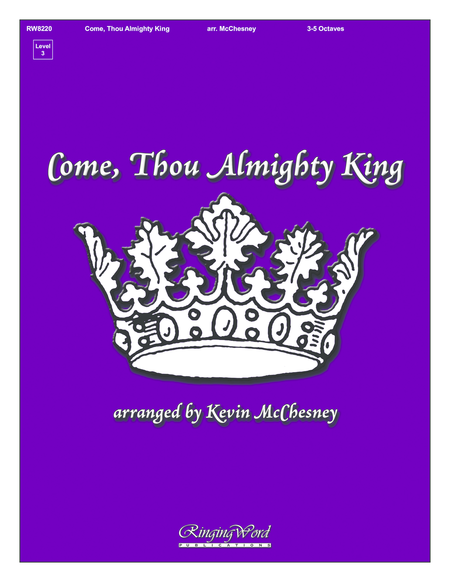 Cover of Come Thou Almighty King