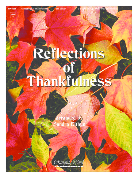 Cover of Reflections of Thankfulness