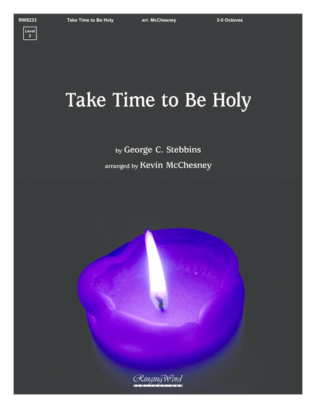 Cover of Take Time to Be Holy