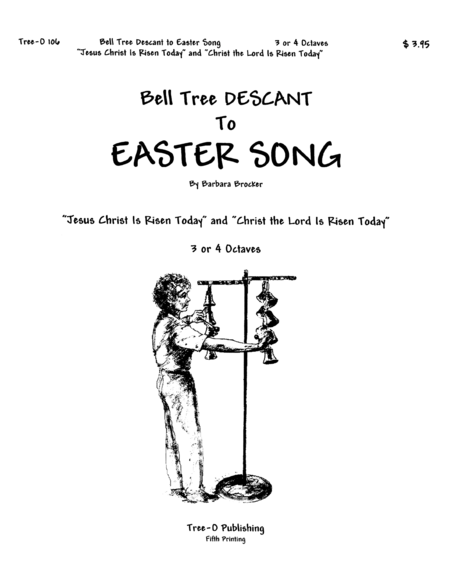 Cover of Bell Tree Descant to Easter Song