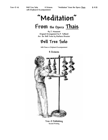 Cover of Meditation from Thais