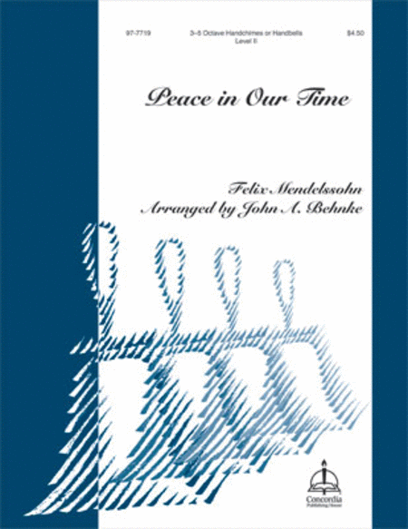 Cover of Peace in Our Time