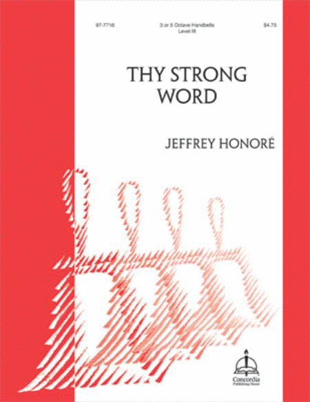 Cover of Thy Strong Word