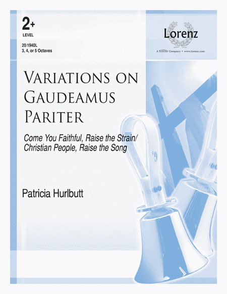 Cover of Variations on Gaudeamus Pariter