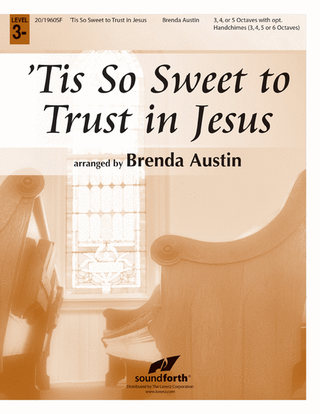 Cover of 'Tis So Sweet to Trust in Jesus