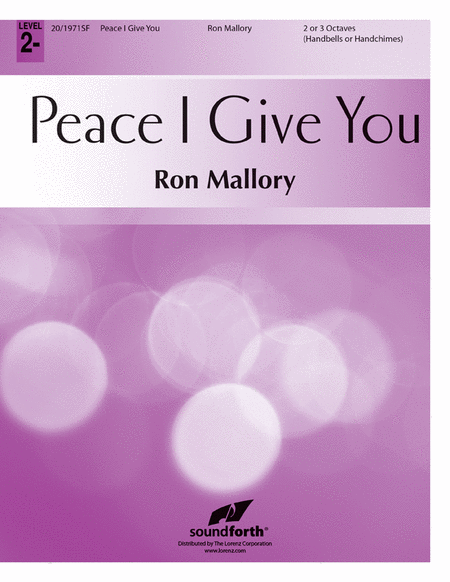 Cover of Peace I Give You