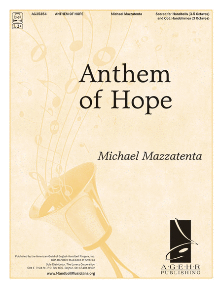 Cover of Anthem of Hope
