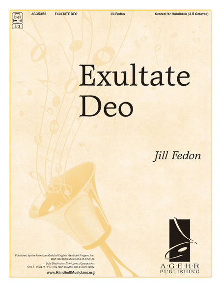 Cover of Exultate Deo