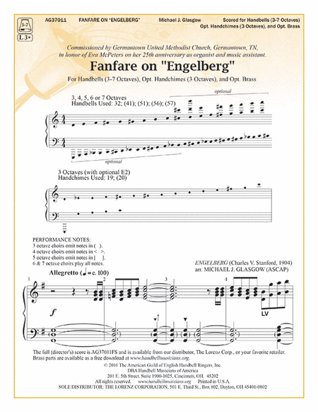 "Cover of Fanfare on ""Engelberg"""