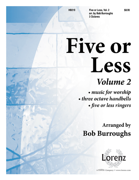 Cover of Five or Less Vol II