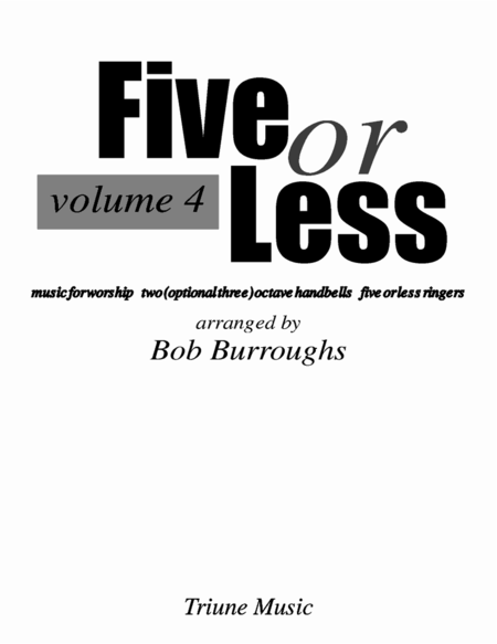 Cover of Five or Less Vol IV
