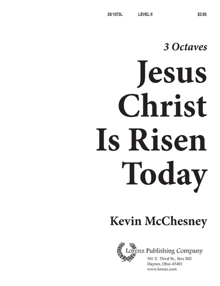 Cover of Jesus Christ Is Risen Today!