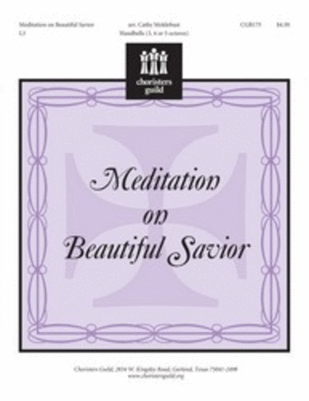 Cover of Meditation on Beautiful Savior