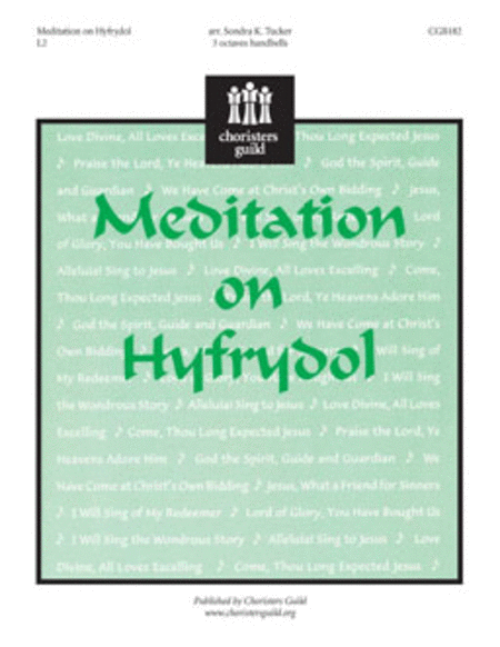 Cover of Meditation on Hyfrydol