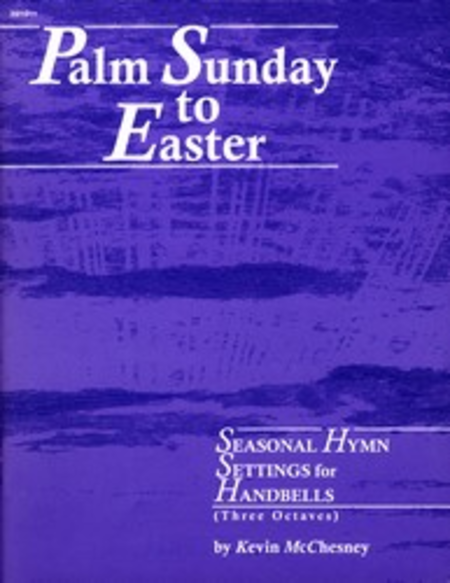 Cover of Palm Sunday to Easter