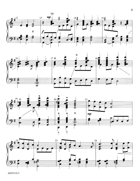 Page 2 of Percussive Praise