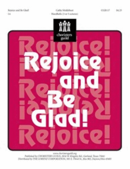 Cover of Rejoice and Be Glad