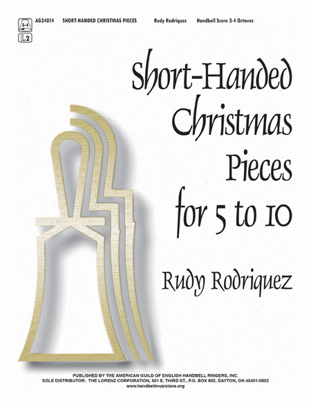 Cover of Short-Handed Christmas Pieces for 5 to 10