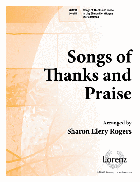 Cover of Songs of Thanks and Praise