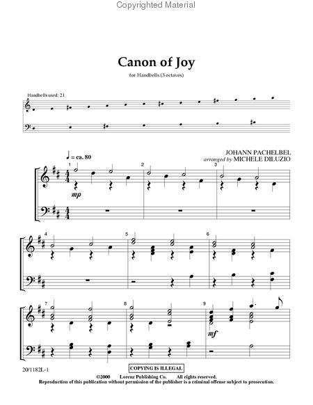 Page 1 of Canon of Joy