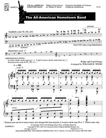 Cover of The All-American Hometown Band
