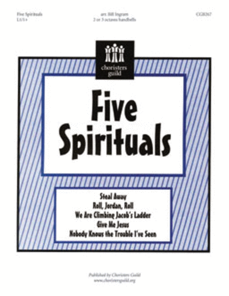 Cover of Five Spirituals