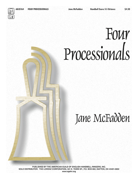 Cover of Four Processionals
