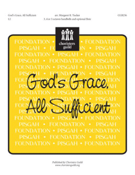 Cover of God's Grace, All-Sufficient