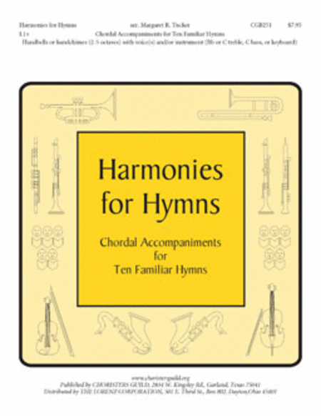 Cover of Harmonies for Hymns