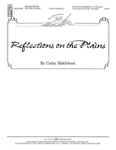 Cover of Reflections on the Plains