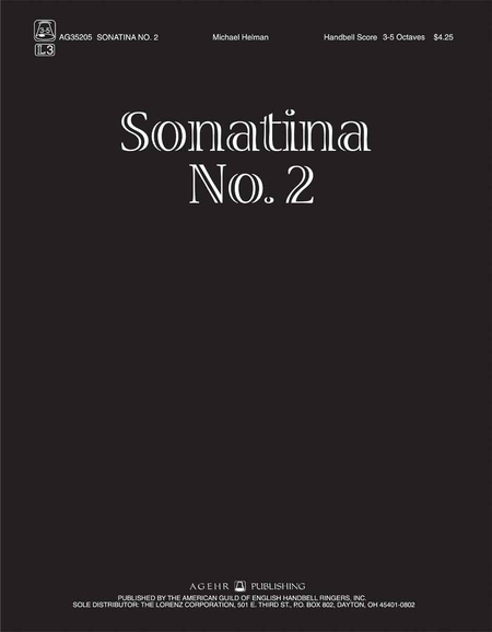 Cover of Sonatina No. 2