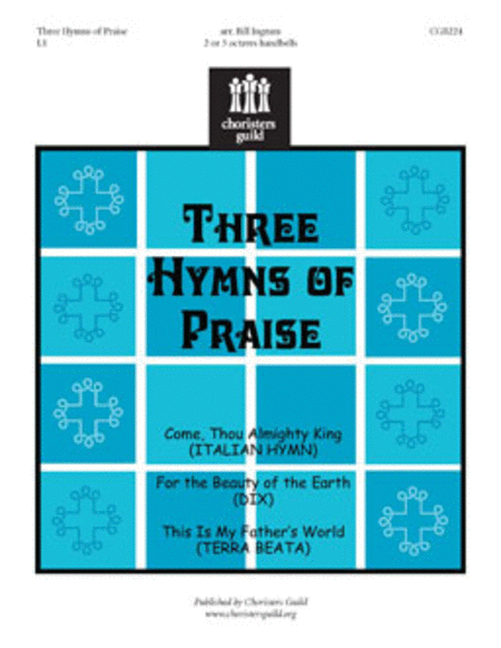 Cover of Three Hymns of Praise