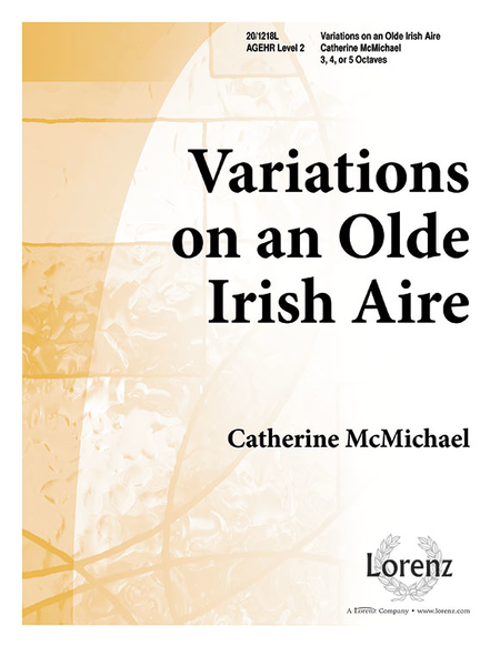 Cover of Variations on an Olde Irish Aire