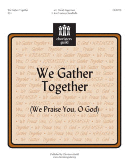 Cover of We Gather Together