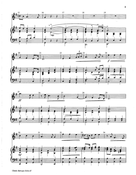 Page 2 of Classic Baroque Solos II