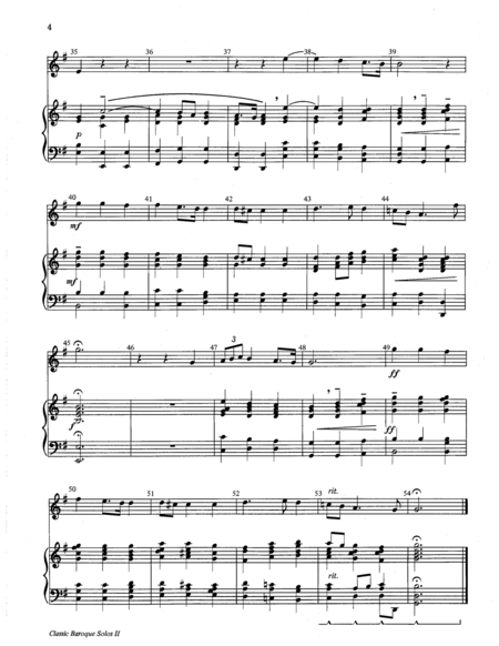 Page 3 of Classic Baroque Solos II