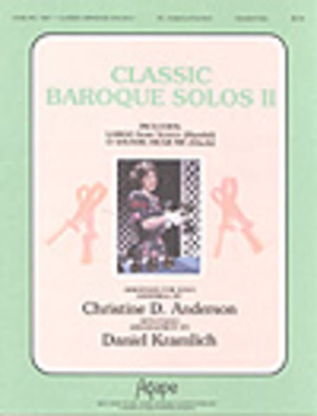Cover of Classic Baroque Solos II