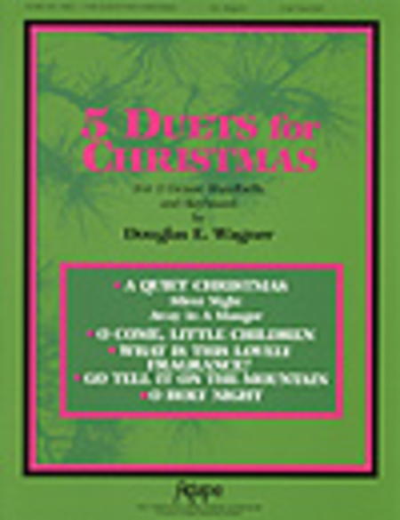 Cover of Five Duets for Christmas