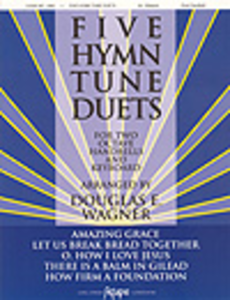 Cover of Five Hymn Tune Duets