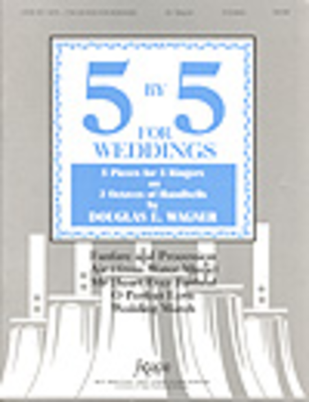 Cover of Five-By-Five for Weddings