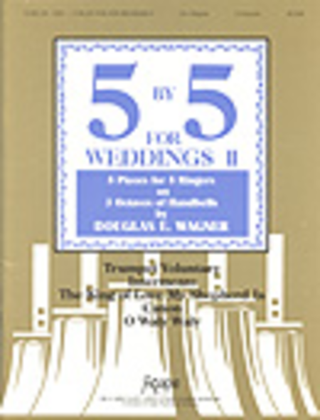 Cover of Five-By-Five for Weddings II