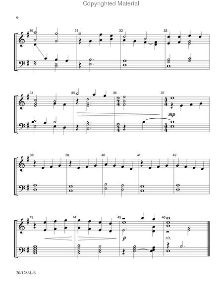 Page 3 of Handbell Hymns for Lent and Easter