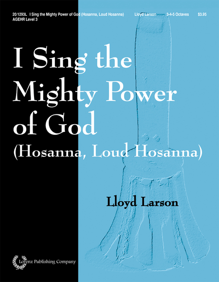Cover of I Sing the Mighty Power of God