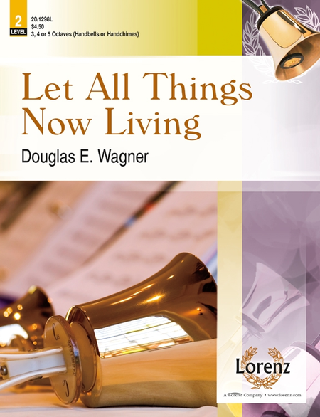 Cover of Let All Things Now Living