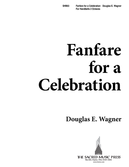 Cover of Fanfare Celebration!