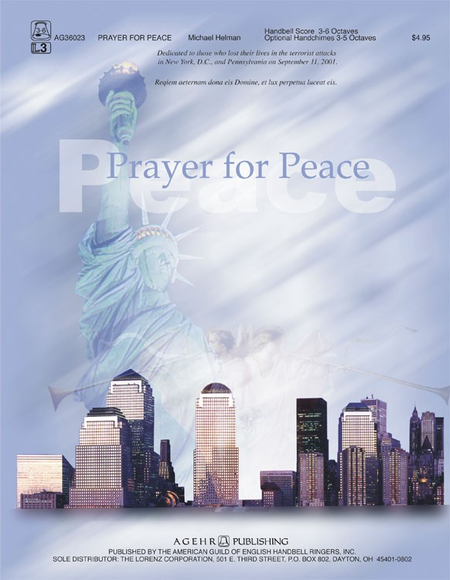 Cover of Prayer for Peace