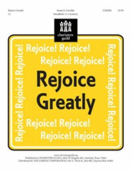 Cover of Rejoice Greatly
